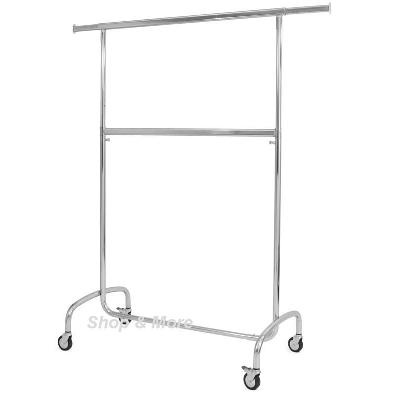 rollst nder mit 2 tragstangen b 103 cm. Black Bedroom Furniture Sets. Home Design Ideas